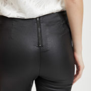 14049672VICOMMIT COATED PLAIN LEGGINGS-NOOS black