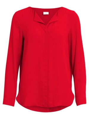 14044583VILUCY L/S SHIRT - FAV Racing Red
